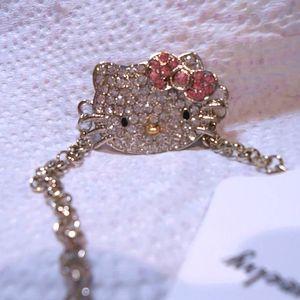 Crystal Hello Kitty bracelet